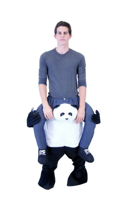 Picture 3 of 4  sc 1 st  eBay & 2018 Adult Plus Size Funny Halloween Animal Piggyback Carry Ride on ...