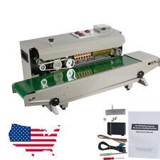 2020 New Continuous Auto Sealing Machine Band Sealer Plastic Bag Film Automatic