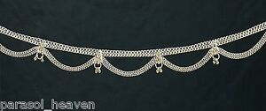 SILVER-TONE-BELLY-CHAIN-BELT-or-NECKLACE-4-BELLY-DANCE-TRIBAL-GYPSY-BOHO-INDIA