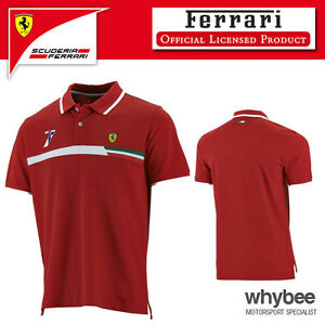 p official ferrari s shirt scuderia polo sebastian fan vettel men mens asp