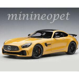 Details About Autoart 76332 Mercedes Benz Amg Gt R 1 18 Model Car Solarbeam Yellow Metallic