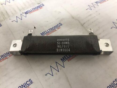 Ohmite Resistor F55J50R 50Ohm  55W  5/%