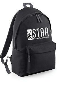 b591bddf84 STAR Labs The Flash Backpack Rucksack School College Travel Work Bag ...