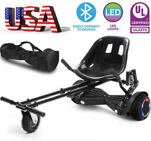 🛴6.5 All-errain Off Road Scooter Hoverboard/Kart/Bag Self Balancing Scooter UL