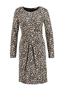 GERRY-WEBER-BNWT-London-Calling-Leopard-Print-Dress-Size-20