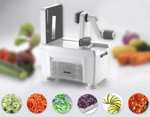 Kitchen Spiral-Pro 4-Blade Spiralizer Cutter Vegetable Food Veggie Pastas Maker