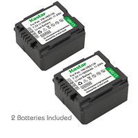 2x Kastar Battery For Panasonic Vw-vbg130 Sdr-h41 Sdr-h50 Sdr-h60 Sdr-h79 H80