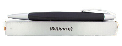 CIRCA 2007 PELIKAN K74 FORM MATTE ROSE AND ALUMINUM BALLPOINT PEN NEW IN BOX