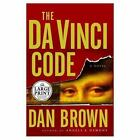 Robert Langdon: The Da Vinci Code Bk. 2 by Dan Brown (2003, Hardcover, Large Type)