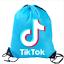 Boys-Girls-Tik-Tok-Drawstring-Backpack-PE-Swim-Gym-Sports-School-Bag-Rucksack-UK thumbnail 11