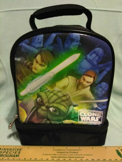 Star Wars The Clone Wars Insulated Lunch Bag