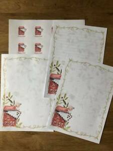 NEW LISTING* Black Cats Stationery 25 Sheet Letter Writing Paper /& 6Stickers Set