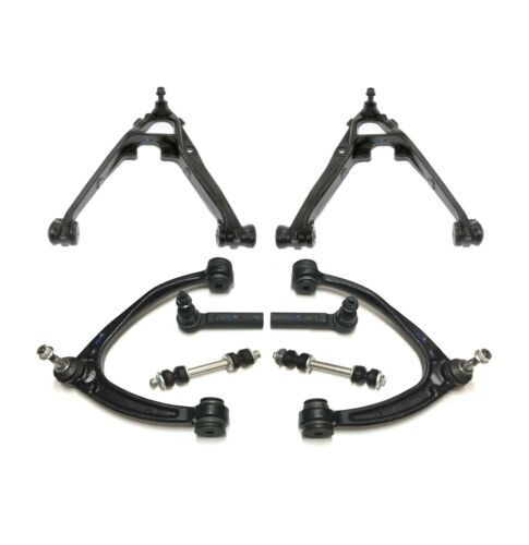 8 New Pc Suspension Kit for Escalade Tahoe Yukon Control Arms Outer Tie Rod Ends