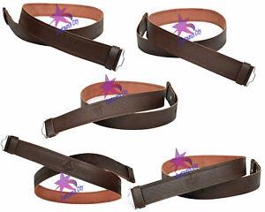 Zielsetzung Cc Schottisch Braun Ledergürtel Freimaurer Europa Internationale Trachten Distel Einfarbig Kilt Gürtel Ohne 100% Original