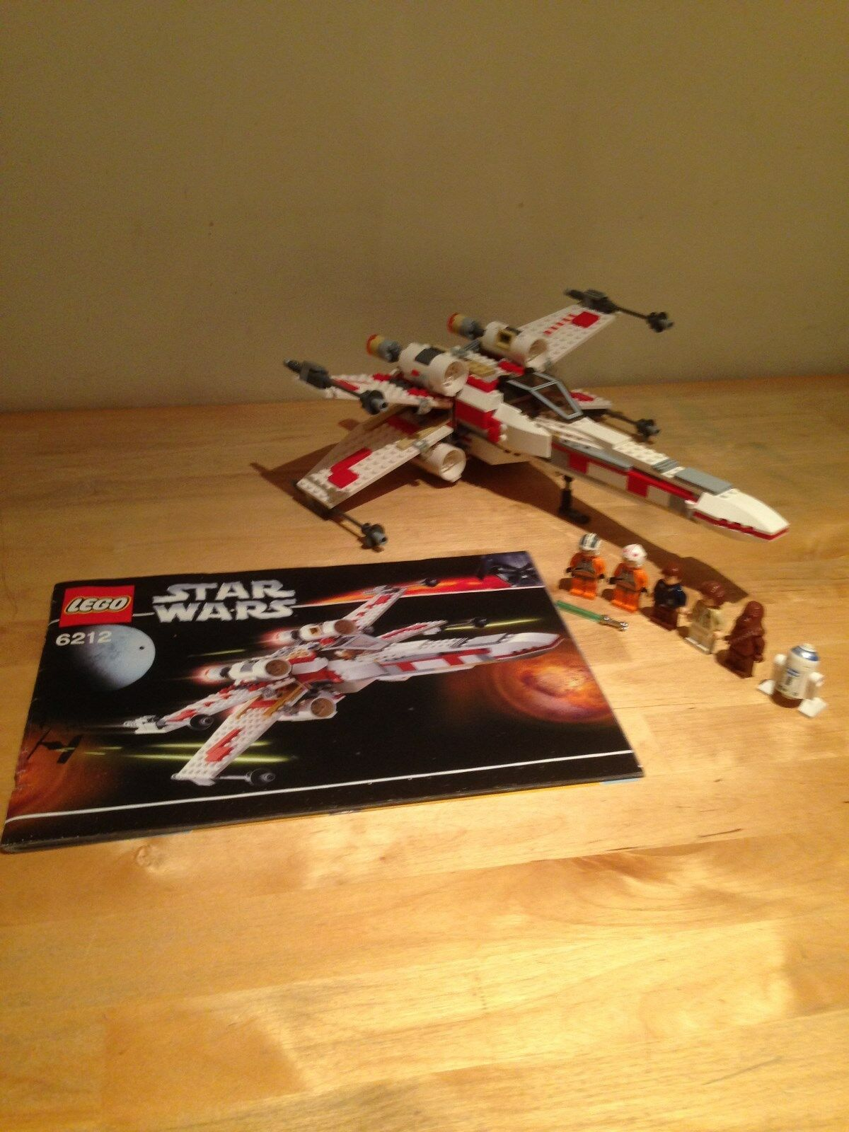 LEGO Star Wars 6212-X-Wing Fighter  inscatolato