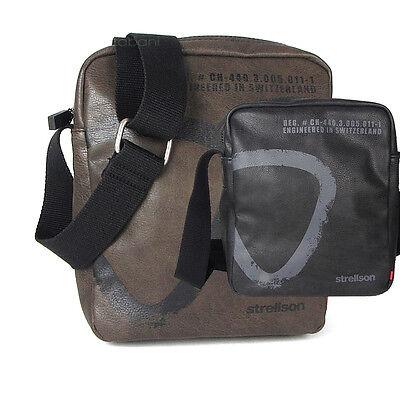 Strellson Tasche Herrentasche Schultertasche Umhängetasche Synthetik Bag Neu