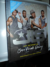JLS JUST BETWEEN US OUR PRIVATE DIARY HARDBACK BOOK ASTON MARVIN ORITSE JB X FAC