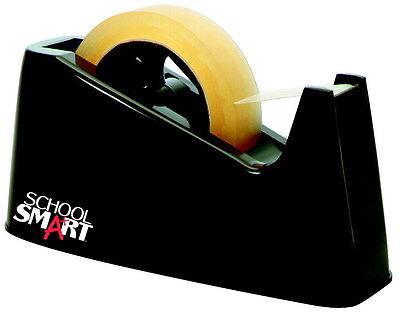 School Smart Deluxe Heavy Duty Interchangeable Tape Dispenser, 1 Inch Core, B...