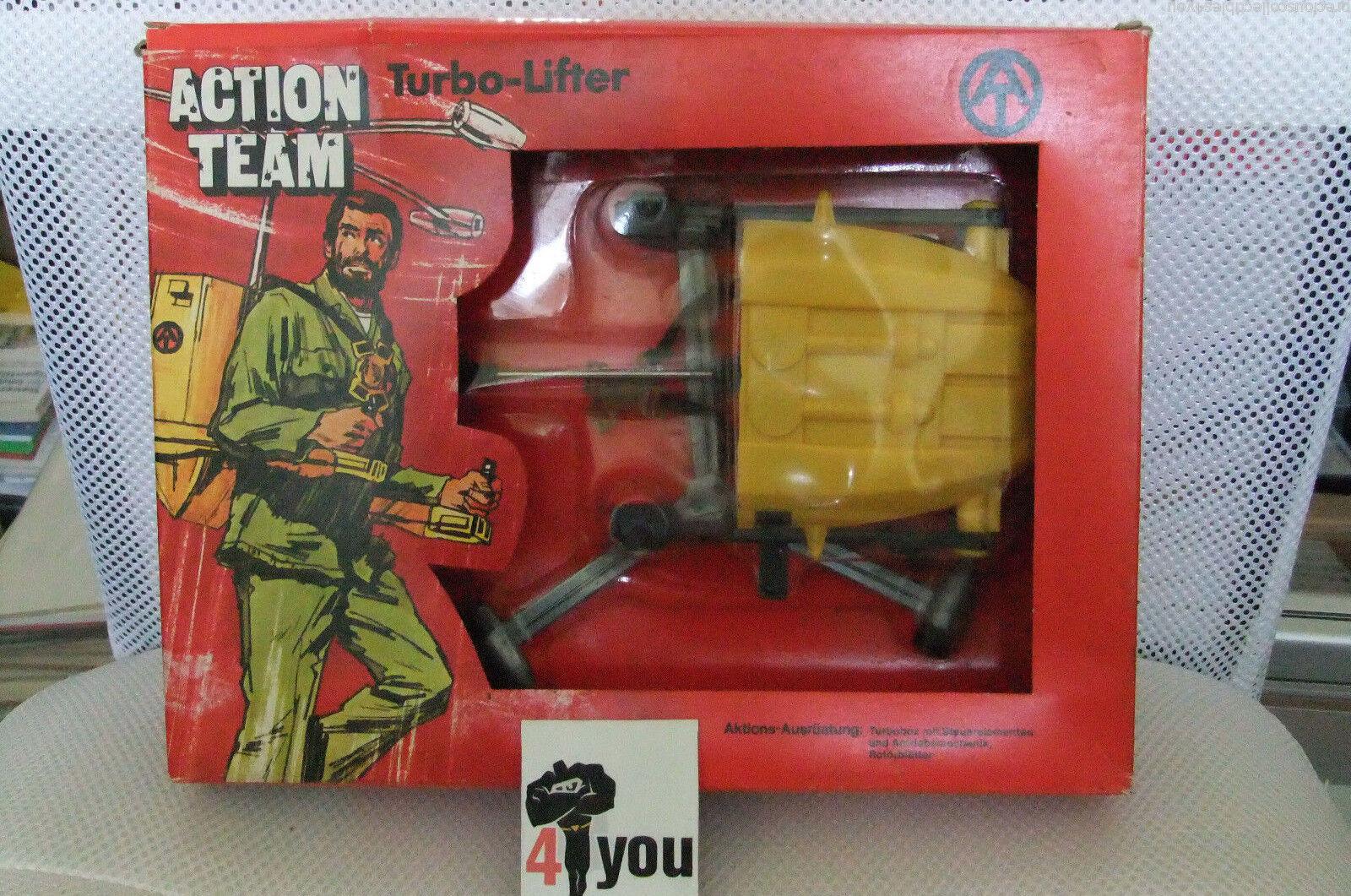 1970 moc vintage - gi joe action team mann turbo-lifter hasbro   02862