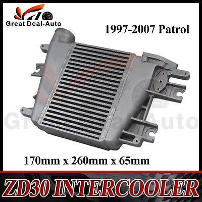 Alloy Intercooler Fits Patrol GU Y61 ZD30 3.0L TD 97-07 Top Mount Upgrade