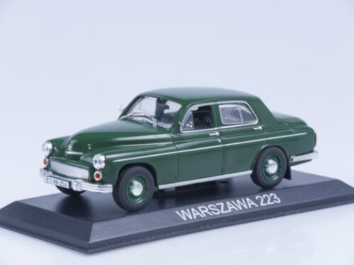 FSO Warszawa 223 Polish Sedan 1962 Year 1:43 Scale Collectible Diecast Model Car