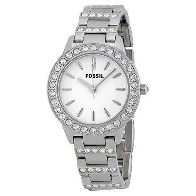Fossil Glitz Jesse Crystal Stainless Steel Ladies Watch ES2362