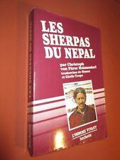 HAIMENDORF.  Les Sherpas du Népal, montagnards boudhistes.