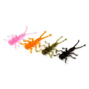 "Microkiller Caddis Fly 1.4"" (35mm) / Rockfish Micro Jig Soft Plastic Bait Lure"
