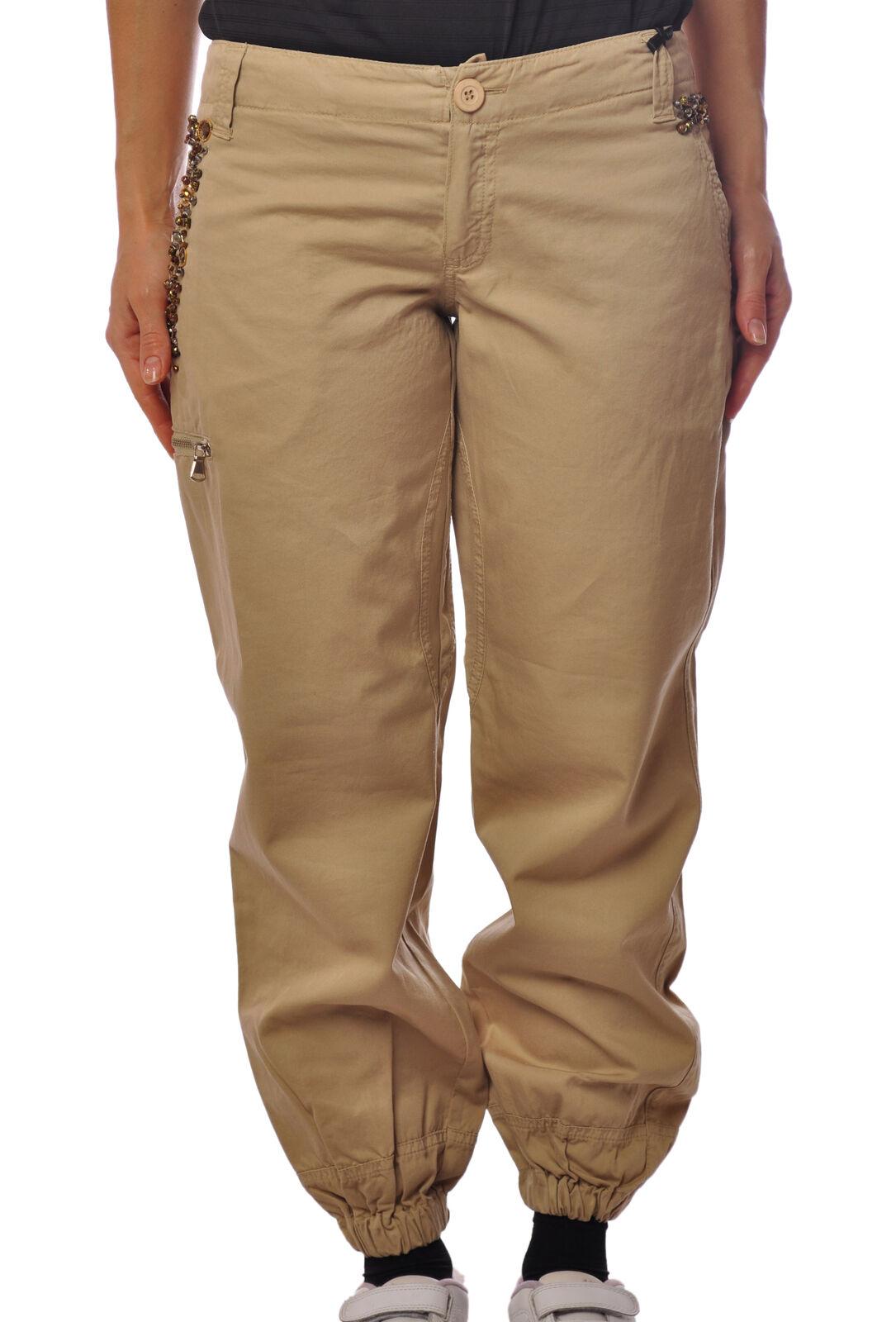 Hanita  -  Pants - Female - Beige - 2114213A183835