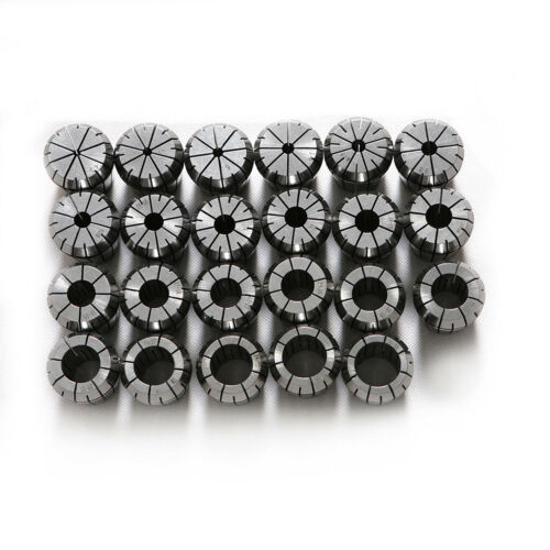 """15PCS ER40 Collet  Imperial  1//8/"""" to 1/"""" Metal tech tool Cutting Tools 45# 65MN"""