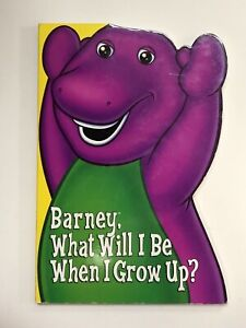 Barney Book What Will I Be When I Grow Up Ebay