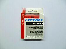 DYMO D2 Schriftband black yellow 12mmx10m schwarz auf gelb 61214 6000 9000 PC10