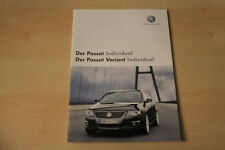 68418) VW Passat + Variant Individual Prospekt 11/2006