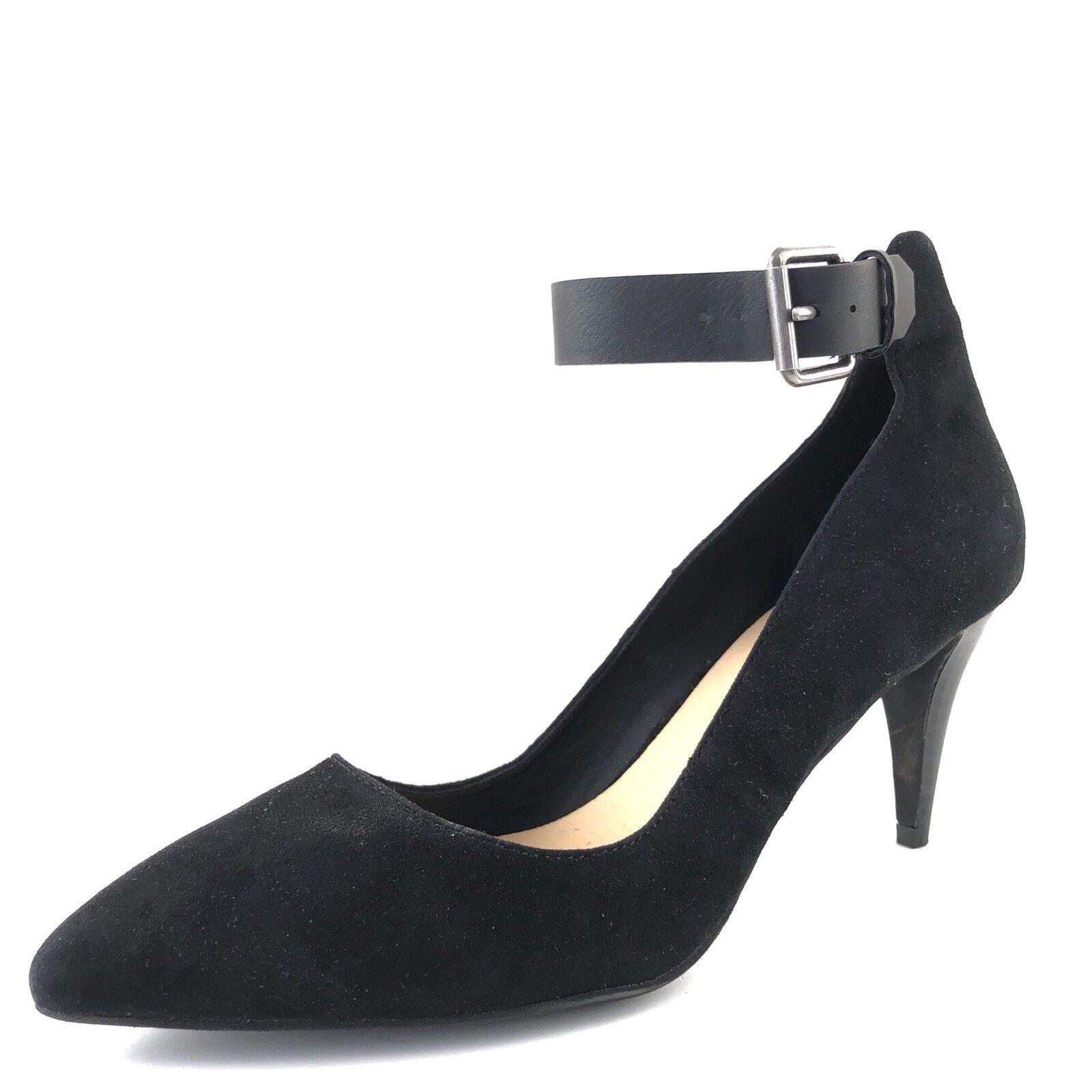 alla moda Joe's nero Suede Leather Ankle Strap Sandals Pumps donna's donna's donna's Dimensione 6.5 M   il prezzo più basso