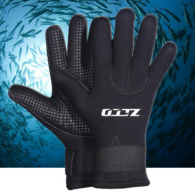 Rafting Canoeing 1Pair Water Sport Gloves 1.5mm Thick Neoprene Diving Gloves Scuba Diving Gloves Snorkeling Kayaking Surfing Watersport Gloves for Winter Swimming