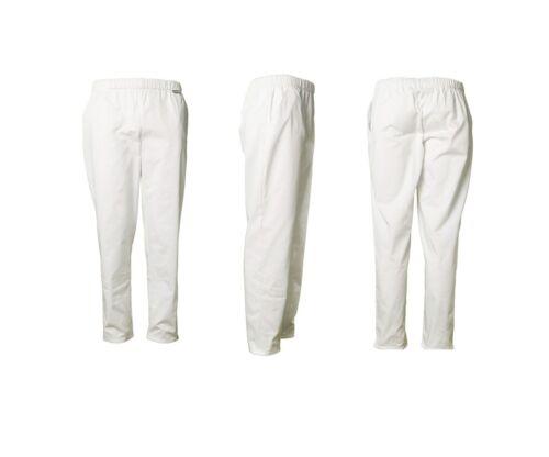 3 pezzi Pack Donna Pantaloni sorelle Pantaloni pfegebekleidung medico Pantaloni 36-54 Bianco