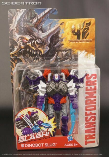 Transformers Age of Extinction Dinobot Slug w// Smash /& Slash Action Figure Toy