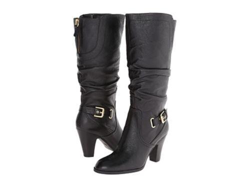 Guess Women's Boots Mallay Wide Calf Boots Black  5 M