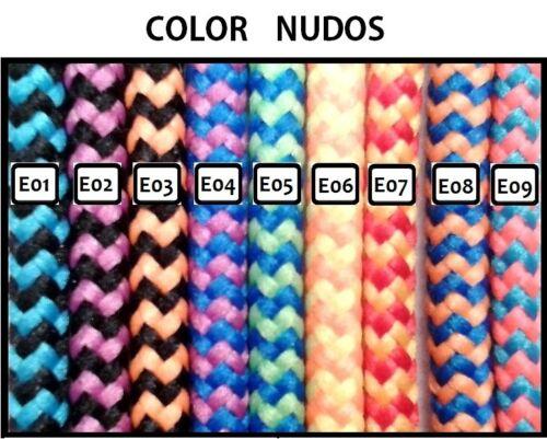 d0dafb37e6d4 5 sur 10 Pulsera UNISEX CUERDA NÁUTICA muchos colores. Hecha a medida  Cierre ancla