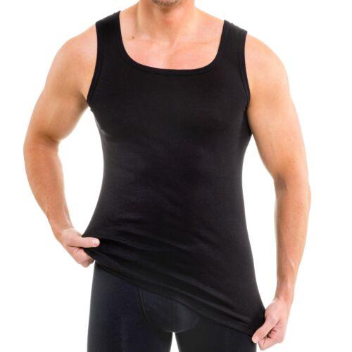 HERMKO 16025 Boxer da Uomo Tank Top Spalline più ampio cotone modal Sotto Camicia Shirt
