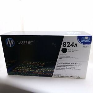 HP-CB384A-824A-Black-Imaging-Drum-LaserJet-CP6015-Genuine-New-Sealed-Box