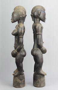 Paire-Statue-Pombilele-Deble-SENOUFO-SENUFO-Ivory-Coast-figure-pair-African-art