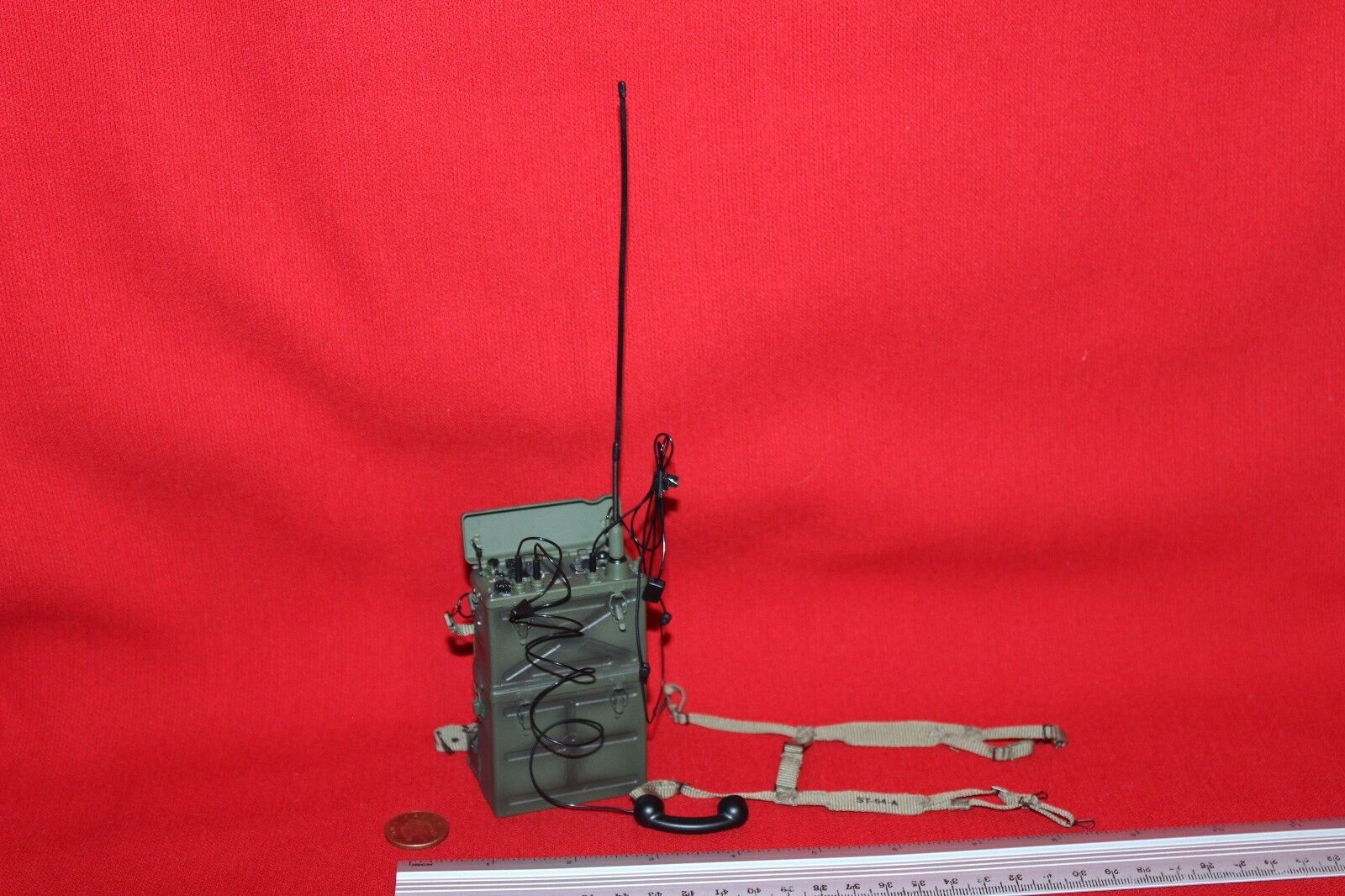 DID DRAGON IN DREAMS 1 6TH SCALE WW2 U.S. ARMY RADIO OPERATOR SCR-300 RADIO PAUL