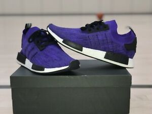 huge discount 2722f 43cb4 Details about ADIDAS NMD R1 PRIMEKNIT ENERGY INK PURPLE 3 STRIPES DS SIZE 13