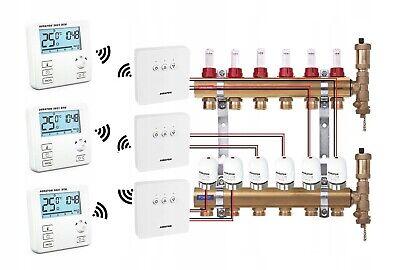 Control Of Underfloor Heating Set 12