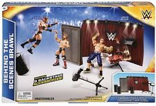 WWE Mattel Behind the Scenes Brawl Backstage Interview Playset Figure Accessory