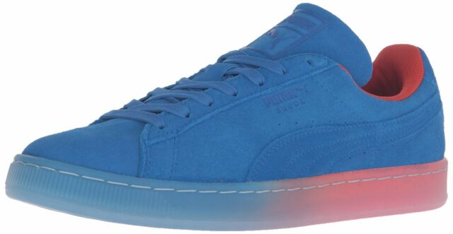 bc1aa70eddc093 PUMA Suede Classic V2 Fade Future Mens 361351-01 Royal Blue Shoes ...