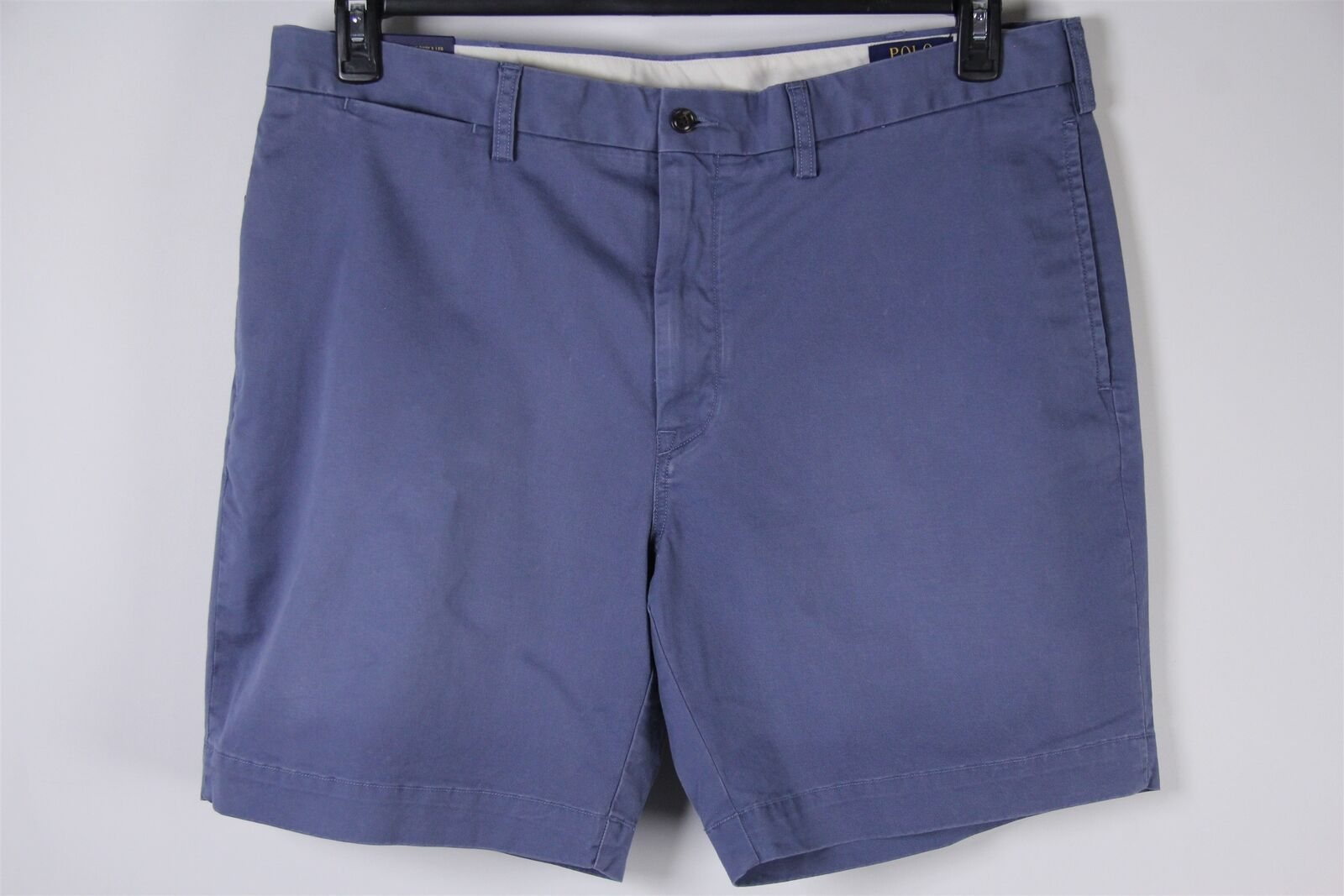 New Polo Ralph Lauren Shorts bluee Classic Fit Stretch Sz 38 Mens