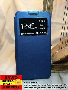 Coque-Rabat-Livre-Cover-Etui-Apple-iPhone-6-Plus-Bleu-Bleu