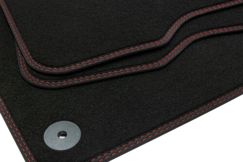 2011 Doppelziernaht Fußmatten für Mercedes B-Klasse W246 ab Bj